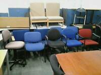 Variety of office chairs (£5 each, many available )