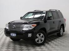 2013 Toyota Landcruiser VDJ200R MY13 VX (4x4) Black 6 Speed Automatic Wagon Jandakot Cockburn Area Preview