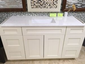 Surprise!! over 50+ demo vanity cabinets CLEARANCE !!!