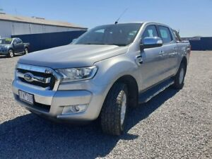 2015 Ford Ranger PX MkII XLT Double Cab Silver 6 Speed Manual Utility Horsham Horsham Area Preview