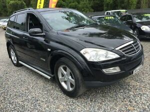 2008 Ssangyong Rexton Y220 II RX270 Black 5 Speed Manual Wagon Jewells Lake Macquarie Area Preview