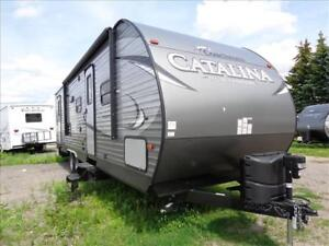 Catalina Travel Trailers...283DDS Sleeps Large Family!
