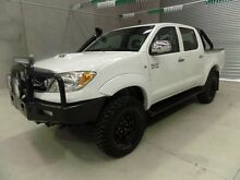 2007 Toyota Hilux KUN26R MY07 SR5 White 5 Speed Manual Utility Miller Liverpool Area Preview