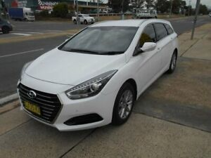 2016 Hyundai i40 VF4 Series II Active Tourer White 6 Speed Sports Automatic Wagon Fyshwick South Canberra Preview
