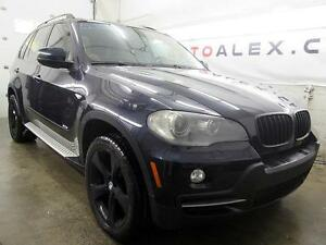 2007 BMW X5 3.0si CUIR TOIT PANO MAGS 20'' MARCHE PIED