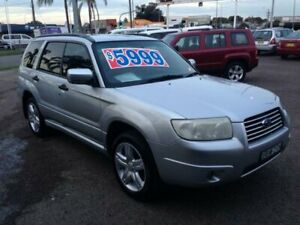 2007 Subaru Forester MY07 X Silver 4 Speed Auto Elec Sportshift Wagon
