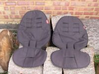 x2 Phil and Ted seat covers; Double City Mini seat cover; rain cover; Storage unit underneath