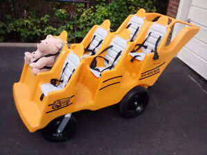 "Angeles Bye-Bye Bus Ride-ON ""Fat Tire"" - 6 Passenger-BRAND NEW"