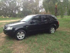 2004 Ford Territory SX Ghia (4x4) Black 4 Speed Auto Seq Sportshift Wagon Coonamble Coonamble Area Preview