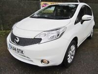 Nissan Note 1.2 Acenta 5DR (white) 2014