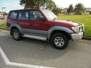 1999 Toyota Landcruiser Prado VZJ95R RV6 Red 5 Speed Manual Wagon Somerton Park Holdfast Bay Preview