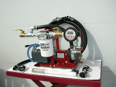 New 20 Gpm Transfer Pumpbulkwaste Oiltransformersmineral Oilfill Rite Meter