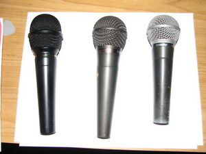 Vocal Mic's