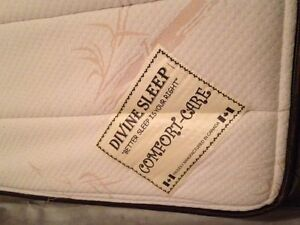 2 Queen Pillow Top Mattresses and 2 Box Springs