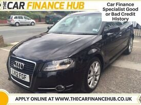 BAD CREDIT, NEED A CAR ?....PAY AS YOU GO FINANCE....AUDI A3 TDI SPORT....representative APR 14.5%