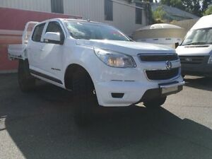 2013 Holden Colorado RG MY13 LX White Auto Sports Mode 4D Cab Chassis Gosford Gosford Area Preview