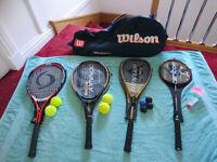 ***Great Condition*** Racquet Set & Bag