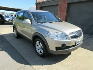 2009 Holden Captiva CG MY10 SX (4x4) Champagne 5 Speed Automatic Wagon Gilles Plains Port Adelaide Area Preview