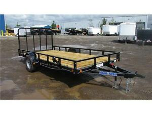 2016 SINGLE AXLE UTILITY TRAILER 12FT W/GATE (3500 LB GVW)