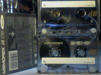 MEMOREX DB 90 (1993-1994) CASSETTE TAPES. 2 FOR £1
