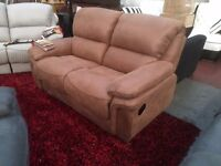 PARIS FABRIC RECLINER - 3 & 2 RECLINER SUITE - TRADE SALE - FAST DELIVERY AVAILABLE - BRAND NEW!!