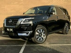 2021 Nissan Patrol Y62 MY21 TI-L Diamond Black 7 Speed Sports Automatic Wagon