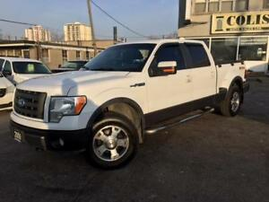 2009 Ford F-150 FX4 4X4 **FLARESIDE-LEATHER-ROOF-NEW TIRES**