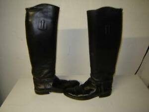 Leather Show Boots