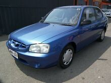 2000 Hyundai Accent LC GL 5 Speed Manual Hatchback Enfield Port Adelaide Area Preview