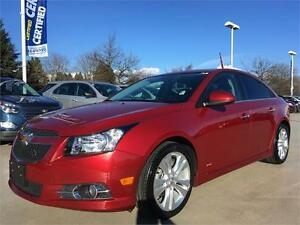 "2014 Chevrolet Cruze 2LT RS package Leather 18 "" wheels"