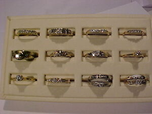 $150.00 to $495.00 -DIAMOND & GOLD ENGAGEMENT RINGS