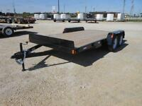 2015 Precision Trailers 14+2' Dovetail Car Hauler Trailer