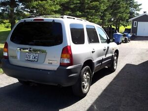 2001 Mazda Tribute VUS Saguenay Saguenay-Lac-Saint-Jean image 3