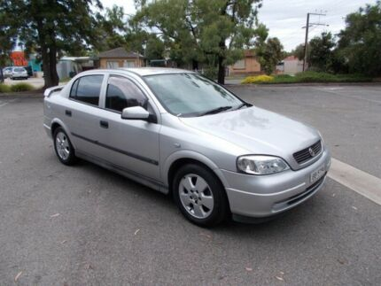 2004 Holden Astra TS CD Sapphire silver 4 Speed Automatic Sedan Alberton Port Adelaide Area Preview
