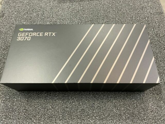 NVIDIA GeForce RTX 3070 Founders Edition 8GB GDDR6X Card PngImage IN HAND  - $820.00