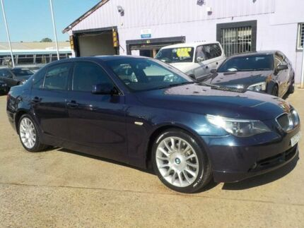 2004 BMW 530i E60 Steptronic Blue 6 Speed Sports Automatic Sedan North St Marys Penrith Area Preview