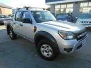 2011 Ford Ranger PK XL HI-Rider (4x2) Silver 5 Speed Automatic Dual Cab Pick-up St James Victoria Park Area Preview