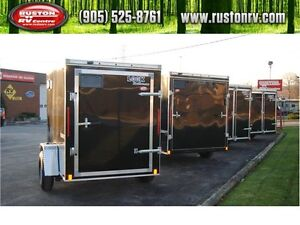 NEW LOOK Enclosed Cargo Trailers, In Stock-Ready for Delivery