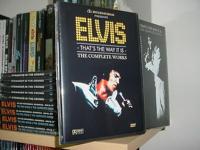 Elvis Presley The Complete Works (3 Double Layer DVDs) over 9 hours of TTWII