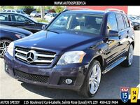 2010 MERCEDES-BENZ GLK350 4MATIC TOIT PANORAMIQUE CLEAN CARPROOF