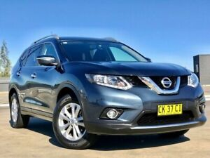 2017 Nissan X-Trail T32 Series II ST-L X-tronic 4WD Blue 7 Speed Constant Variable Wagon Blacktown Blacktown Area Preview