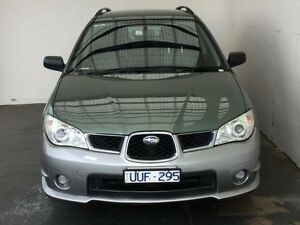 2007 Subaru Impreza S MY07 RV AWD Green 4 Speed Automatic Hatchback Mount Gambier Grant Area Preview