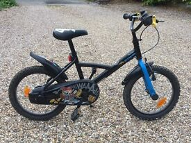 """Boys B'Twin Jack Pirabike 16"""". Used but great condition."""