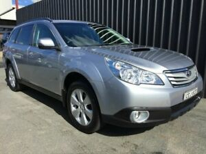 2011 Subaru Outback MY11 2.0D Premium (Sat-Nav) Silver 6 Speed Manual Wagon