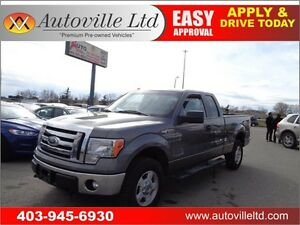 2011 Ford F-150 4X4 Extended Cab