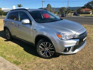 2018 Mitsubishi ASX XC MY18 LS (2WD) Silver Continuous Variable Wagon Dapto Wollongong Area Preview