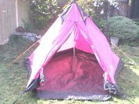 vango juno tepee 3 (2man tent)
