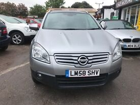 2009 Nissan QASHQAI+2 2.0 Acenta 2WD 5dr - 7 SEATER, IN VERY GOOD CONDITION.