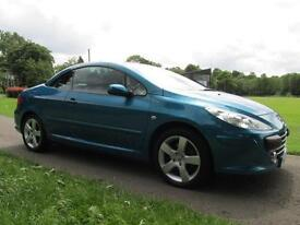 2009 (58) Peugeot 307 CC 2.0HDi ( 136bhp ) Coupe Sport ***FINANCE ARRANGED***