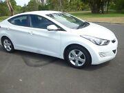 2011 Hyundai Elantra MD Elite White 6 Speed Manual Sedan Ballina Ballina Area Preview
